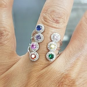 Colorful Ring sz 6 7 8 9 10